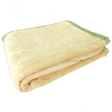 こうや綿毛布(ベージュ) 米阪パイル織物株式会社