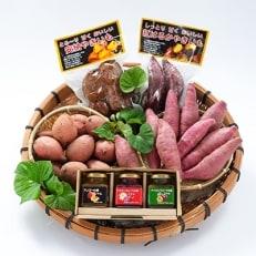 マンゴーの森 指宿のたまて箱セットC(焼芋・さつま芋・ジャムセット)