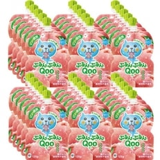 ミニッツメイド ぷるんぷるんQoo もも 30本(6本入/中箱×5個) H159