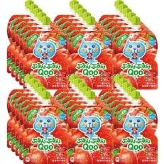ミニッツメイド ぷるんぷるんQoo りんご 30本(6本入/中箱×5個) H162