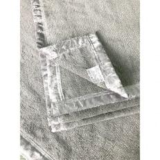 備長炭消臭高機能綿毛布(ロング)グレー 三和シール工業株式会社