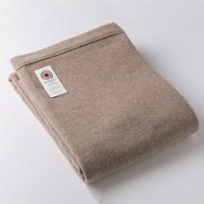 【ふるさと納税】ダブルサイズカシミヤ毛布(毛羽部分)