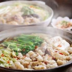 博多若杉もつ鍋(4~5人前)・水炊き(3~4人前)贅沢セット