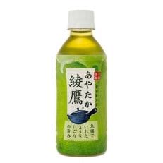 【緑茶ペットボトル入り】綾鷹 300ml×24本