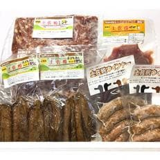 【高知原産】土佐鴨4種お試しセット(土佐鴨ウインナー・手羽中燻製・ササミ・ミンチ)