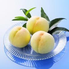 久米南白桃3玉(計700g程度)