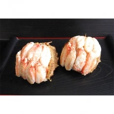 【北海道産】ボイル毛蟹甲羅盛(約150g×2個)