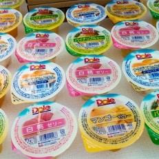 【美味果物(うまかもん)】<果物屋さんのフルーツたっぷりゼリー>24個入り