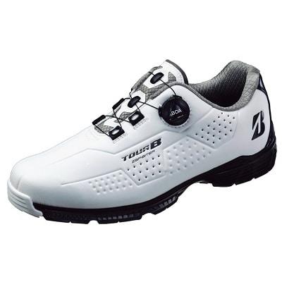 ゴルフシューズ「SHG900」(WK)くるめ絣袋セット