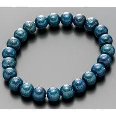 数珠ブレスレット ≪星月菩提樹≫ 藍染仕立(あいぞめ) 桐箱入