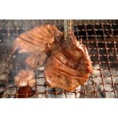 【厳選】肉厚ジューシー「味付き 東松島牛タン」 500g(約5人前)