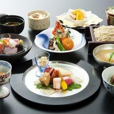 【お食事券】 季節の懐石料理1名様分(おみやげ付)