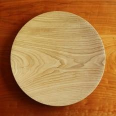 栗の木皿(直径27cm)