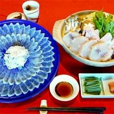 吉宝ふぐ【梅】コース(30cmプラ皿盛り・2~3人前)