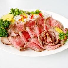 神戸肉・但馬牛手造りローストビーフ約530g