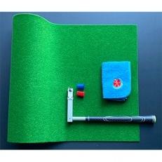 ゼロプレーン&45cm×4mパターマット+土佐カントリークラブオリジナルタオル【セットお礼品】
