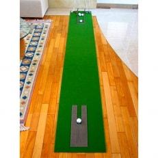 ゴルフ練習用・SUPER-BENTパターマット45cm×3.5mとゴルフ練習用具/土佐CCオリジナル