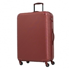 スーツケースABS7352(チルト)Lサイズ ワインレッド