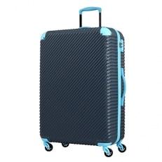 スーツケースABS7352(チルト)Lサイズ ダークネイビー×ブルー
