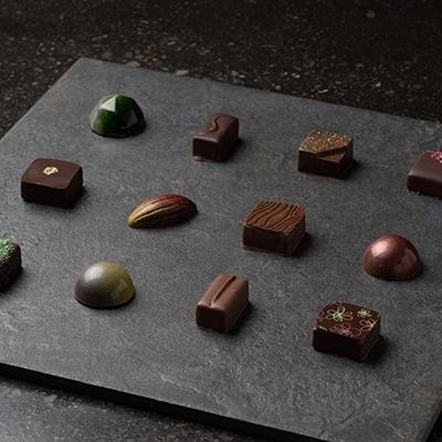 チョコレート専門店のオリジナルボンボンショコラセット コンプリートBOX
