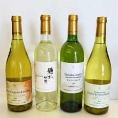 シャトーマルス(720ml×1本)&プレステージ(750ml×3本)白ワイン4本飲み比べセット