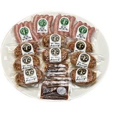 キッチン飛騨 飛騨牛・飛騨豚使用ハンバーグとソーセージセット