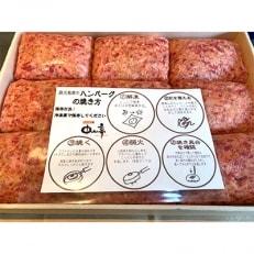 鹿児島黒牛ハンバーグ9個入(ソース9個付き)