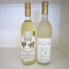 山梨市産ワイン 甘口白2本セット
