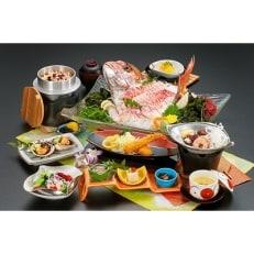 【活魚の美舟】平日限定入浴付き活魚料理お食事券 2名様