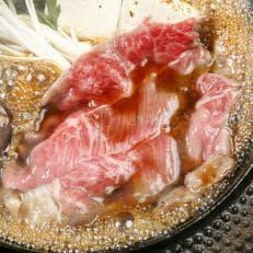 白老牛 すき焼き用 450g すき焼きのたれセット