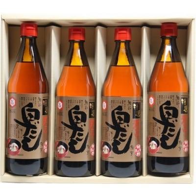 七福醸造の特選料亭白だし4本セット H001-015