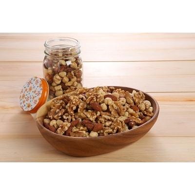 【ケトン食を意識した】低糖質で無塩のミックスナッツ H059-013
