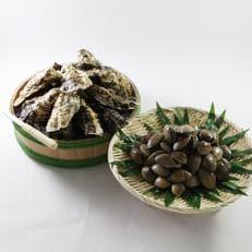 厚岸産殻牡蠣 『丸えもん2L-size 28個入り』&殻付きあさり1kg