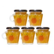 ごろっとりんごを使用!りんごポリフェノールを多く含んだ 与古美のりんごジャム5本セット