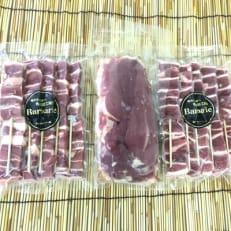 カモ肉バーベキューセット(約1kg)