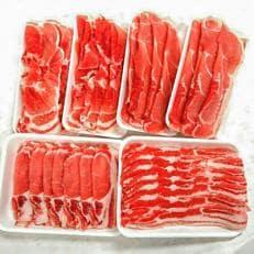 北海道産熟成豚肉セット約2.6kg