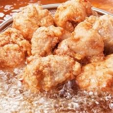 和食の板前が作る味「なだまん」から揚げ用味付け鶏肉(1.1kg)