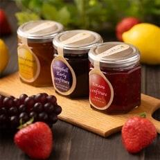 フルーツソムリエが作った『フルーツジャム3種』果肉たっぷり旬の果実を贅沢に
