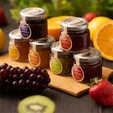 フルーツソムリエが作った『フルーツジャムミニ6種』旬の果実を贅沢に使用