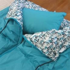 「エコな羽毛」3WAY 寝袋クッション|ベルク|アップサイクルダウン