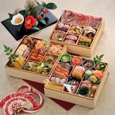 【さとふる限定】<2020年新春>金目鯛入り指宿三段重特製おせち(薩摩のたまて箱)