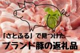 さとふるで見つけたブランド豚