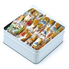 カレーのおせんべい 450g 缶入り a_45