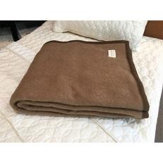 キャメル毛布 シングルサイズ