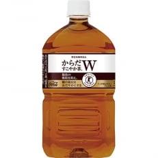 【コカ・コーラ社】 からだすこやか茶W  1050mlペット×12本