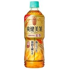 【コカ・コーラ社】爽健美茶 健康素材の麦茶600mlペット×24本(1ケース)