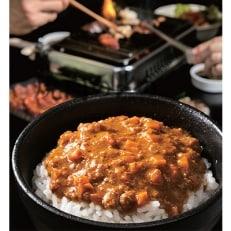 焼肉の街 南信州・飯田 焼肉の〆のキーマカレー15食
