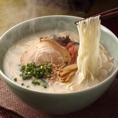 樽味屋の博多とんこつラーメンと辛子高菜 セット