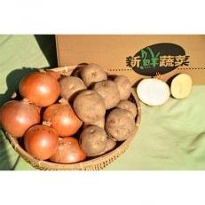 佐藤農場のじゃがいも「とうや」10kgと玉葱10kgセット