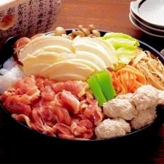 【さとふるで郷土料理体験】青森シャモロック せんべい汁セット(4人前)
